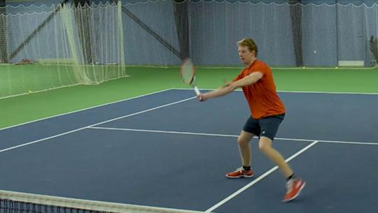 Tennis college application video