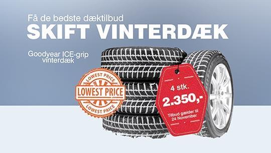 Vinterdæk reklame 2D enkel