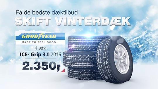 Vinterdæk reklame 3D