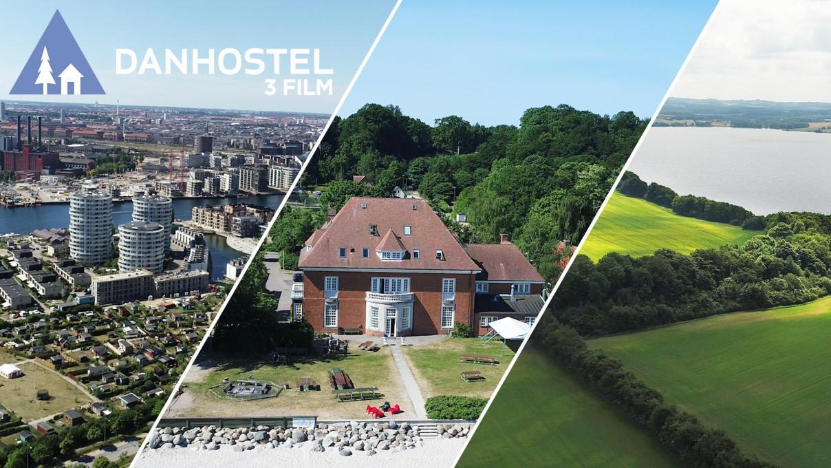 Tre reklamefilm for Danhostel