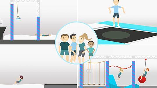 Airtrix trampolinpark