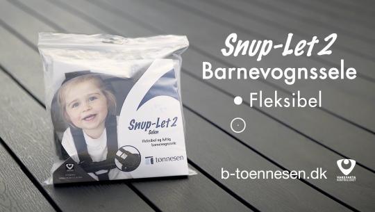 Tønnesen - Snup-Let 2 barnevognssele